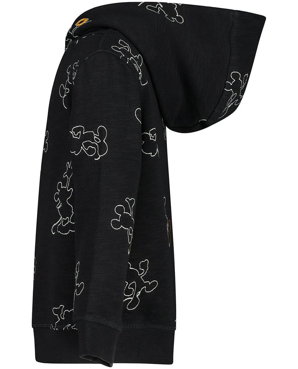 Sweater - Schwarz - Sweater mit Allover-Print